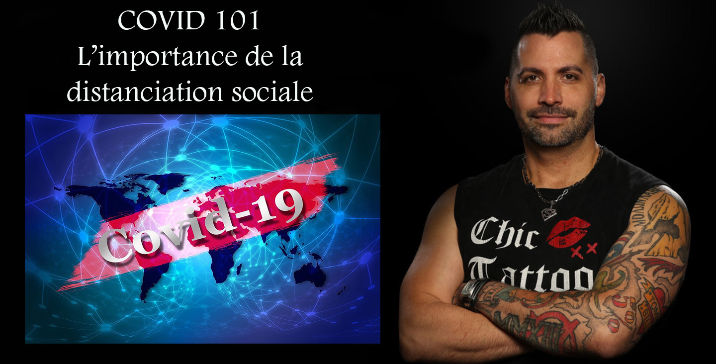 COVID 101 l'importance de la distanciation sociale
